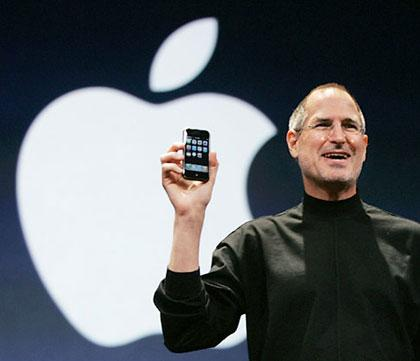 Стив Джобс, презентация iPhone